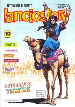 Copertina LANCIOSTORY ANNO 25 n.40 - LANCIOSTORY 1999   40, EDITORIALE AUREA