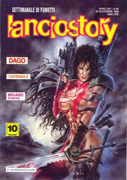 Copertina LANCIOSTORY ANNO 25 n.46 - LANCIOSTORY 1999   46, EDITORIALE AUREA