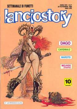 Copertina LANCIOSTORY ANNO 25 n.47 - LANCIOSTORY 1999   47, EDITORIALE AUREA