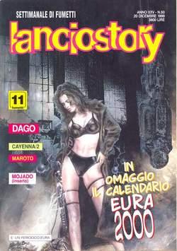 Copertina LANCIOSTORY ANNO 25 n.50 - LANCIOSTORY 1999   50, EDITORIALE AUREA