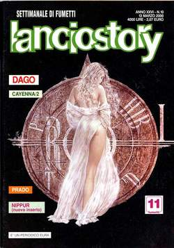 Copertina LANCIOSTORY ANNO 26 n.10 - LANCIOSTORY 2000   10, EDITORIALE AUREA