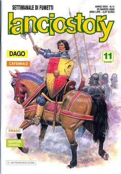 Copertina LANCIOSTORY ANNO 26 n.11 - LANCIOSTORY 2000   11, EDITORIALE AUREA