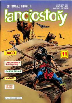 Copertina LANCIOSTORY ANNO 26 n.21 - LANCIOSTORY 2000   21, EDITORIALE AUREA