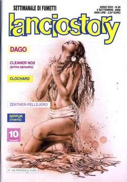 Copertina LANCIOSTORY ANNO 26 n.35 - LANCIOSTORY 2000   35, EDITORIALE AUREA