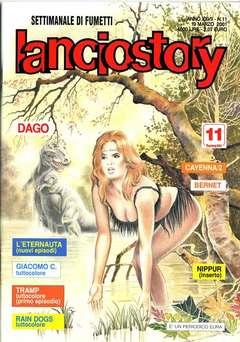 Copertina LANCIOSTORY ANNO 27 n.11 - LANCIOSTORY 2001   11, EDITORIALE AUREA