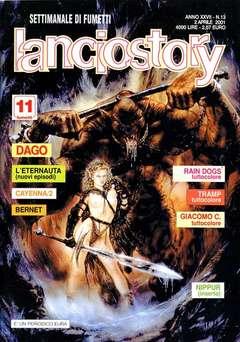 Copertina LANCIOSTORY ANNO 27 n.13 - LANCIOSTORY 2001   13, EDITORIALE AUREA