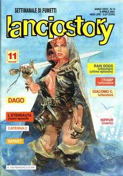 Copertina LANCIOSTORY ANNO 27 n.14 - LANCIOSTORY 2001   14, EDITORIALE AUREA
