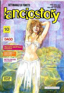Copertina LANCIOSTORY ANNO 27 n.27 - LANCIOSTORY 2001   27, EDITORIALE AUREA