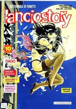 Copertina LANCIOSTORY ANNO 27 n.39 - LANCIOSTORY 2001   39, EDITORIALE AUREA
