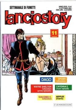 Copertina LANCIOSTORY ANNO 27 n.41 - LANCIOSTORY 2001   41, EDITORIALE AUREA