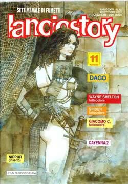 Copertina LANCIOSTORY ANNO 27 n.42 - LANCIOSTORY 2001   42, EDITORIALE AUREA