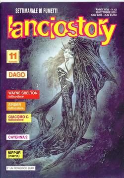 Copertina LANCIOSTORY ANNO 27 n.43 - LANCIOSTORY 2001   43, EDITORIALE AUREA