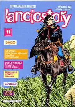 Copertina LANCIOSTORY ANNO 27 n.49 - LANCIOSTORY 2001   49, EDITORIALE AUREA