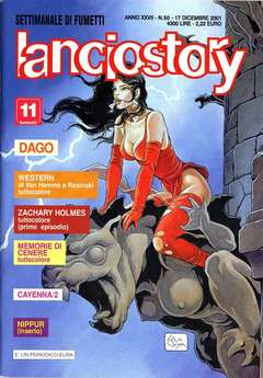 Copertina LANCIOSTORY ANNO 27 n.50 - LANCIOSTORY 2001   50, EDITORIALE AUREA