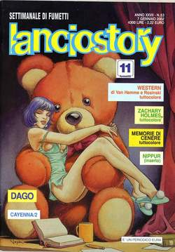 Copertina LANCIOSTORY ANNO 27 n.53 - LANCIOSTORY 2001   53, EDITORIALE AUREA