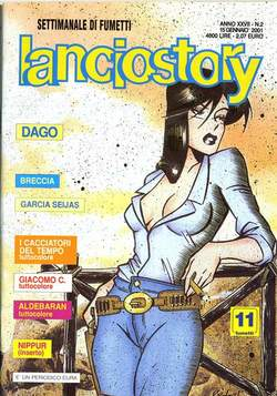 Copertina LANCIOSTORY ANNO 27 n.2 - LANCIOSTORY 2001    2, EDITORIALE AUREA