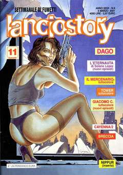 Copertina LANCIOSTORY ANNO 27 n.9 - LANCIOSTORY 2001    9, EDITORIALE AUREA