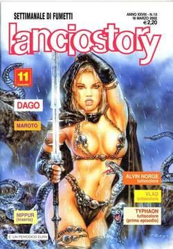 Copertina LANCIOSTORY ANNO 28 n.10 - LANCIOSTORY 2002   10, EDITORIALE AUREA