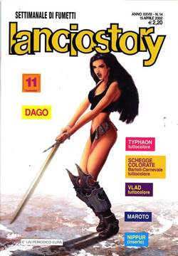 Copertina LANCIOSTORY ANNO 28 n.14 - LANCIOSTORY 2002   14, EDITORIALE AUREA