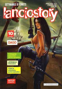 Copertina LANCIOSTORY ANNO 28 n.17 - LANCIOSTORY 2002   17, EDITORIALE AUREA