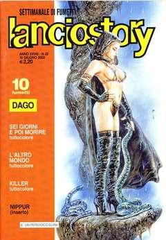 Copertina LANCIOSTORY ANNO 28 n.22 - LANCIOSTORY 2002   22, EDITORIALE AUREA