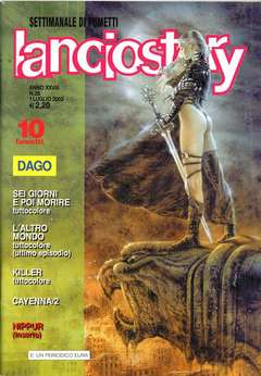 Copertina LANCIOSTORY ANNO 28 n.25 - LANCIOSTORY 2002   25, EDITORIALE AUREA