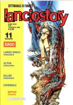 Copertina LANCIOSTORY ANNO 28 n.32 - LANCIOSTORY 2002   32, EDITORIALE AUREA