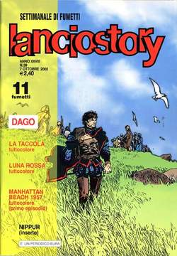 Copertina LANCIOSTORY ANNO 28 n.39 - LANCIOSTORY 2002   39, EDITORIALE AUREA