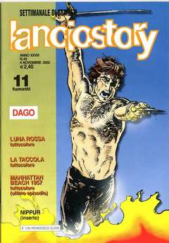 Copertina LANCIOSTORY ANNO 28 n.43 - LANCIOSTORY 2002   43, EDITORIALE AUREA