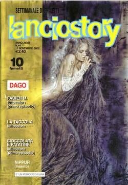 Copertina LANCIOSTORY ANNO 28 n.44 - LANCIOSTORY 2002   44, EDITORIALE AUREA