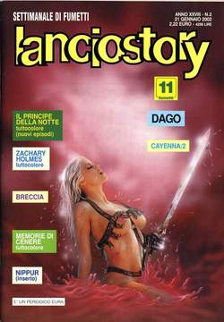 Copertina LANCIOSTORY ANNO 28 n.2 - LANCIOSTORY 2002    2, EDITORIALE AUREA