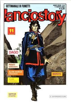 Copertina LANCIOSTORY ANNO 28 n.9 - LANCIOSTORY 2002    9, EDITORIALE AUREA