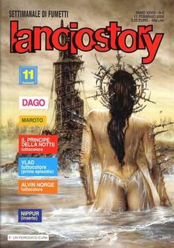 Copertina LANCIOSTORY ANNO 28 n.5 - LANCIOSTORY 2002    5, EDITORIALE AUREA