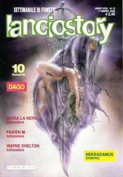 Copertina LANCIOSTORY ANNO 29 n.10 - LANCIOSTORY 2003   10, EDITORIALE AUREA