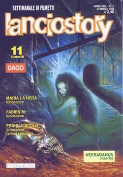 Copertina LANCIOSTORY ANNO 29 n.11 - LANCIOSTORY 2003   11, EDITORIALE AUREA