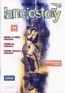 Copertina LANCIOSTORY ANNO 29 n.13 - LANCIOSTORY 2003   13, EDITORIALE AUREA