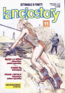 Copertina LANCIOSTORY ANNO 29 n.15 - LANCIOSTORY 2003   15, EDITORIALE AUREA