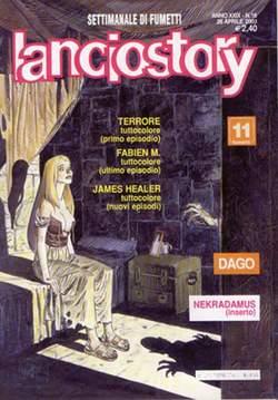 Copertina LANCIOSTORY ANNO 29 n.16 - LANCIOSTORY 2003   16, EDITORIALE AUREA