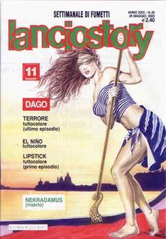 Copertina LANCIOSTORY ANNO 29 n.20 - LANCIOSTORY 2003   20, EDITORIALE AUREA