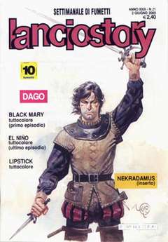 Copertina LANCIOSTORY ANNO 29 n.21 - LANCIOSTORY 2003   21, EDITORIALE AUREA