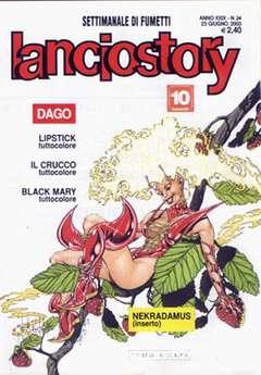 Copertina LANCIOSTORY ANNO 29 n.24 - LANCIOSTORY 2003   24, EDITORIALE AUREA