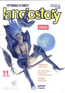 Copertina LANCIOSTORY ANNO 29 n.1 - LANCIOSTORY 2003    1, EDITORIALE AUREA