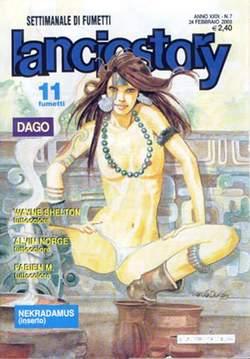 Copertina LANCIOSTORY ANNO 29 n.7 - LANCIOSTORY 2003    7, EDITORIALE AUREA