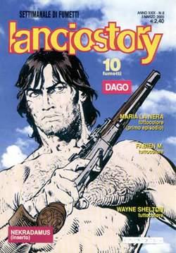 Copertina LANCIOSTORY ANNO 29 n.8 - LANCIOSTORY 2003    8, EDITORIALE AUREA