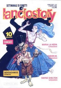 Copertina LANCIOSTORY ANNO 29 n.9 - LANCIOSTORY 2003    9, EDITORIALE AUREA