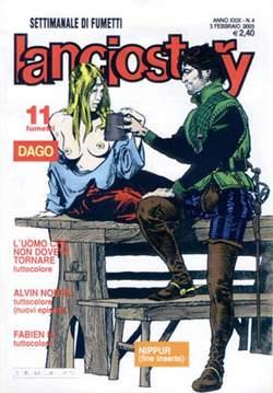 Copertina LANCIOSTORY ANNO 29 n.4 - LANCIOSTORY 2003    4, EDITORIALE AUREA