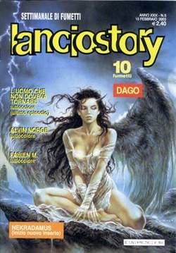 Copertina LANCIOSTORY ANNO 29 n.5 - LANCIOSTORY 2003    5, EDITORIALE AUREA