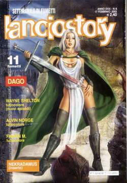 Copertina LANCIOSTORY ANNO 29 n.6 - LANCIOSTORY 2003    6, EDITORIALE AUREA