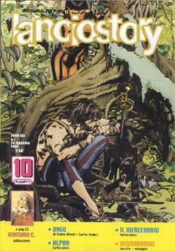 Copertina LANCIOSTORY ANNO 30 n.7 - LANCIOSTORY 2004    7, EDITORIALE AUREA