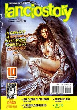 Copertina LANCIOSTORY ANNO 31 n.33 - LANCIOSTORY 2005   33, EDITORIALE AUREA